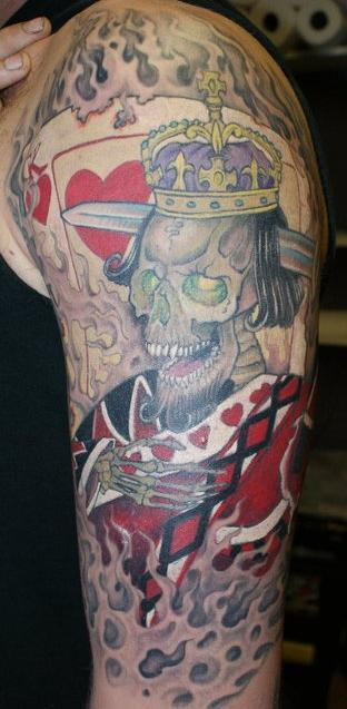 Suicide king rites of passage tattoo for Suicide kings tattoo